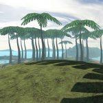 Dodo Adventures Island palm trees